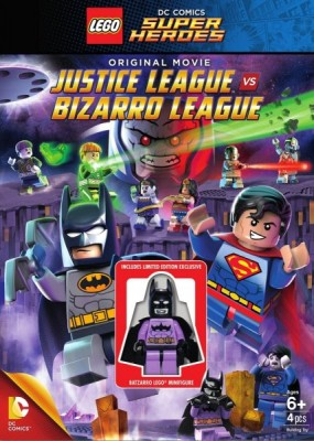 LEGO супергерои DC: Лига справедливости против Лиги Бизарро / Lego DC Comics Super Heroes: Justice League vs. Bizarro League (2015) HDRip / BDRip