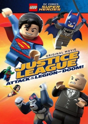 LEGO супергерои DC: Лига справедливости против легиона смерти / Lego DC Comics Super Heroes: Justice League: Attack of the Legion of Doom!  (2015) HDRip / BDRip