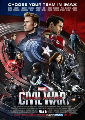������ ��������: �������������� / Captain America: Civil War (2016) CAMRip