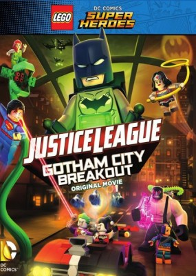 LEGO Лига справедливости: Прорыв Готэм-Сити / Lego DC Comics Superheroes: Justice League - Gotham City Breakout (2016) HDRip / BDRip