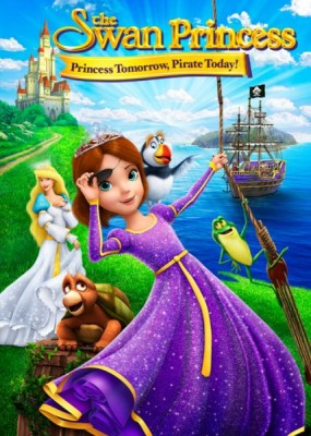 Принцесса Лебедь: Пират или принцесса? / The Swan Princess: Princess Tomorrow, Pirate Today! (2016) WEB-DLRip / WEB-DL