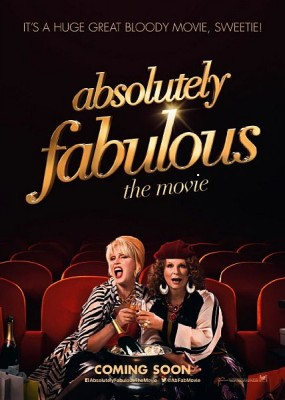 Просто потрясающе /  Absolutely Fabulous: The Movie (2016) HDRip / BDRip