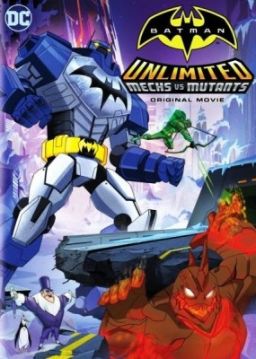 Безграничный Бэтмен: Роботы против мутантов / Batman Unlimited: Mech vs. Mutants (2016) WEB-DLRip / WEB-DL