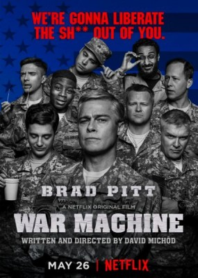 Машина войны / War Machine (2017) WEB-DLRip / WEB-DL