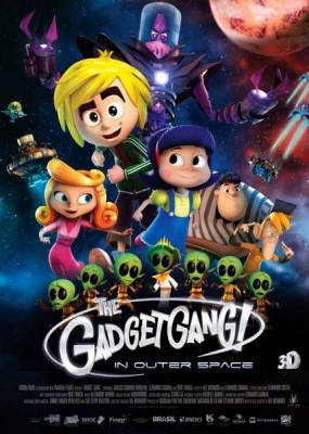 Космическая братва / Gadgetgang in Outerspace (2016) WEB-DLRip / WEB-DL