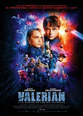 Валериан и город тысячи планет / Valerian and the City of a Thousand Planets (2017) HDRip / BDRip  (720p, 1080p)