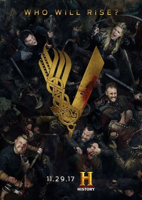 Викинги / Vikings - 5 сезон (2017) WEB-DLRip / WEB-DL (720p, 1080p)