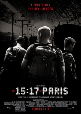 Поезд на Париж / The 15:17 to Paris (2018) HDRip / BDRip (720p, 1080p)