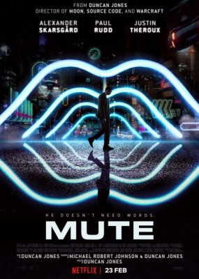 Немой / Mute (2018) WEB-DLRip / WEB-DL (720p)