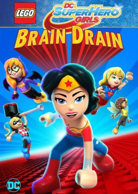 ЛЕГО Школа Супер Героинь: Утечка мозгов / Lego DC Super Hero Girls: Brain Drain (2018) WEB-DLRip / WEB-DL (720p)