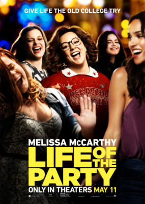 Душа компании / Life of the Party (2018) HDRip / BDRip (720p, 1080p)