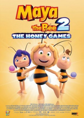 Пчeлкa Мaйя и Кy6oк мeдa / Maya the Bee: The Honey Games (2018) HDRip / BDRip (720p, 1080p)