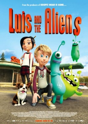 Пришельцы в доме / Luis & the Aliens (2018) WEB-DLRip / WEB-DL (720p, 1080p)