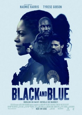 Чёрный и синий / Black and Blue (2019) HDRip / BDRip (720p, 1080p)