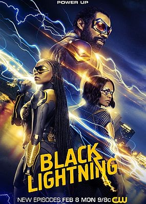 Черная молния / Black Lightning - 4 сезон (2021) WEB-DLRip / WEB-DL (720p, 1080p)